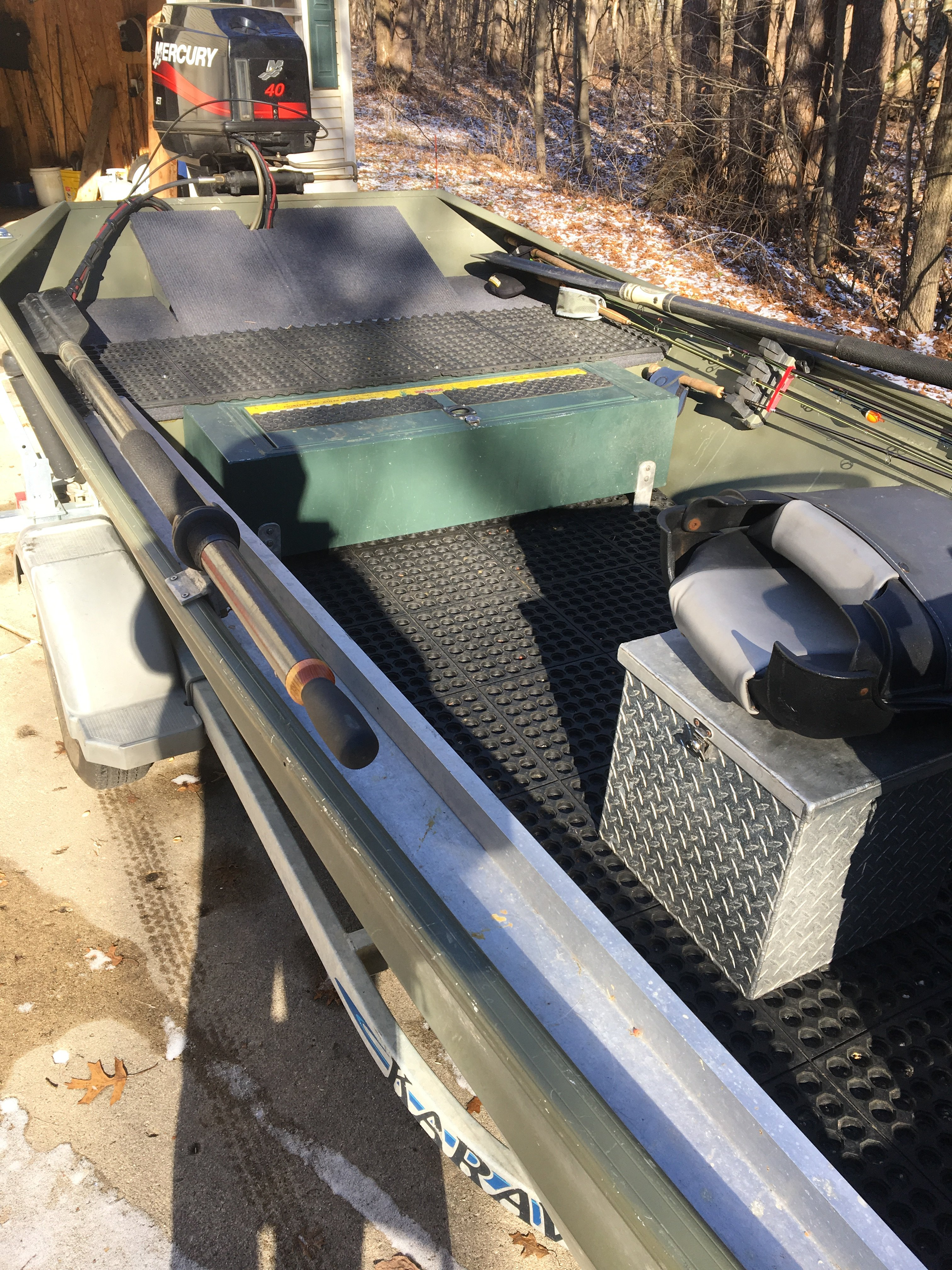 SeaArk 1652 center console Jet sled for sale | Michigan