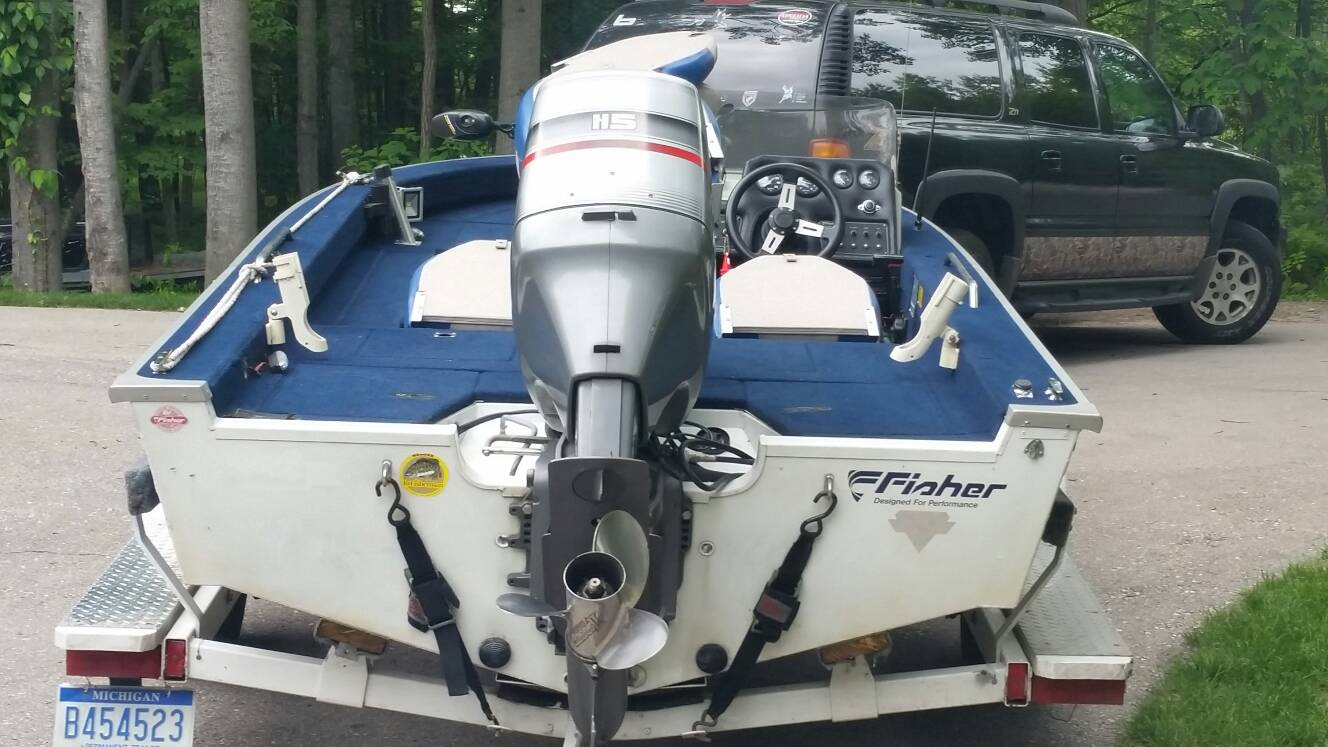St Charles Boat And Motor >> 1993 Fisher SV 17 GT | Michigan Sportsman - Online Michigan Hunting and Fishing Resource