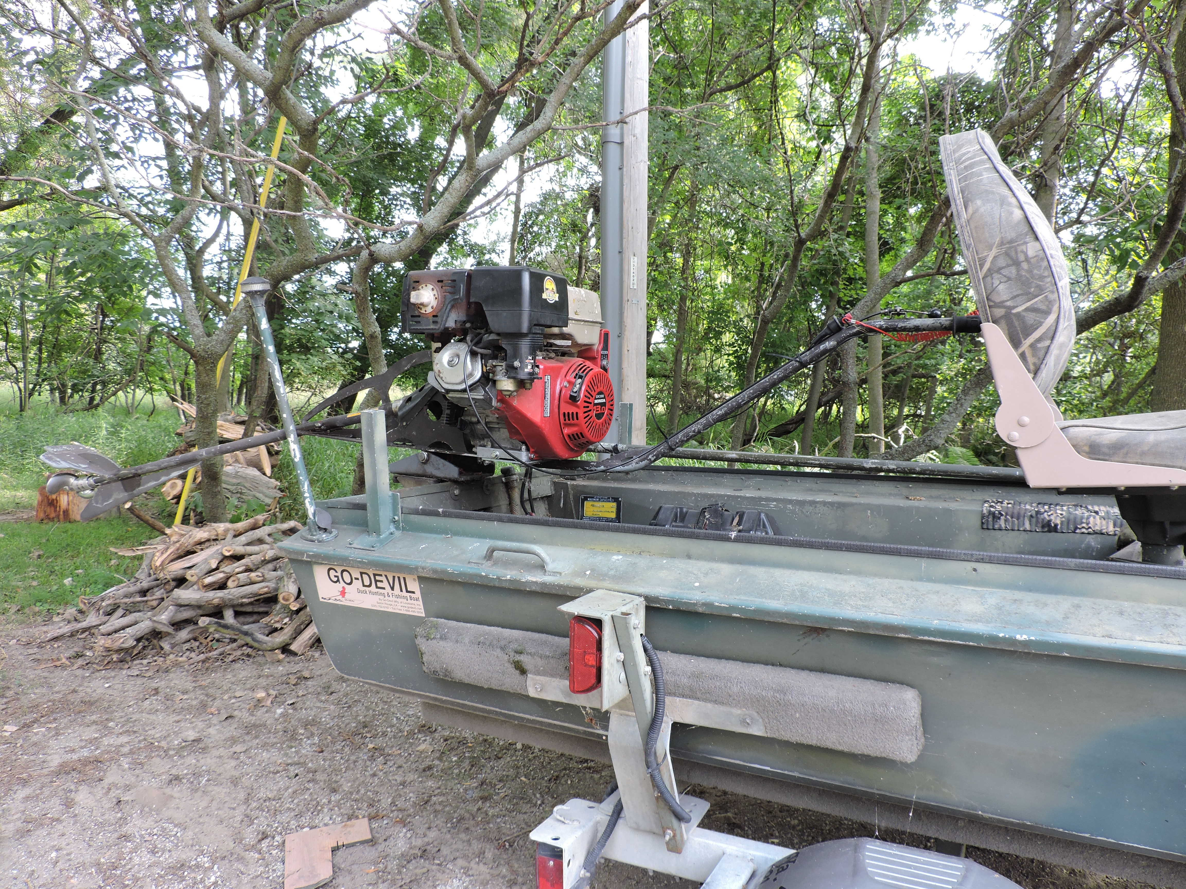 Duck boat | Michigan Sportsman - Online Michigan Hunting and Fishing