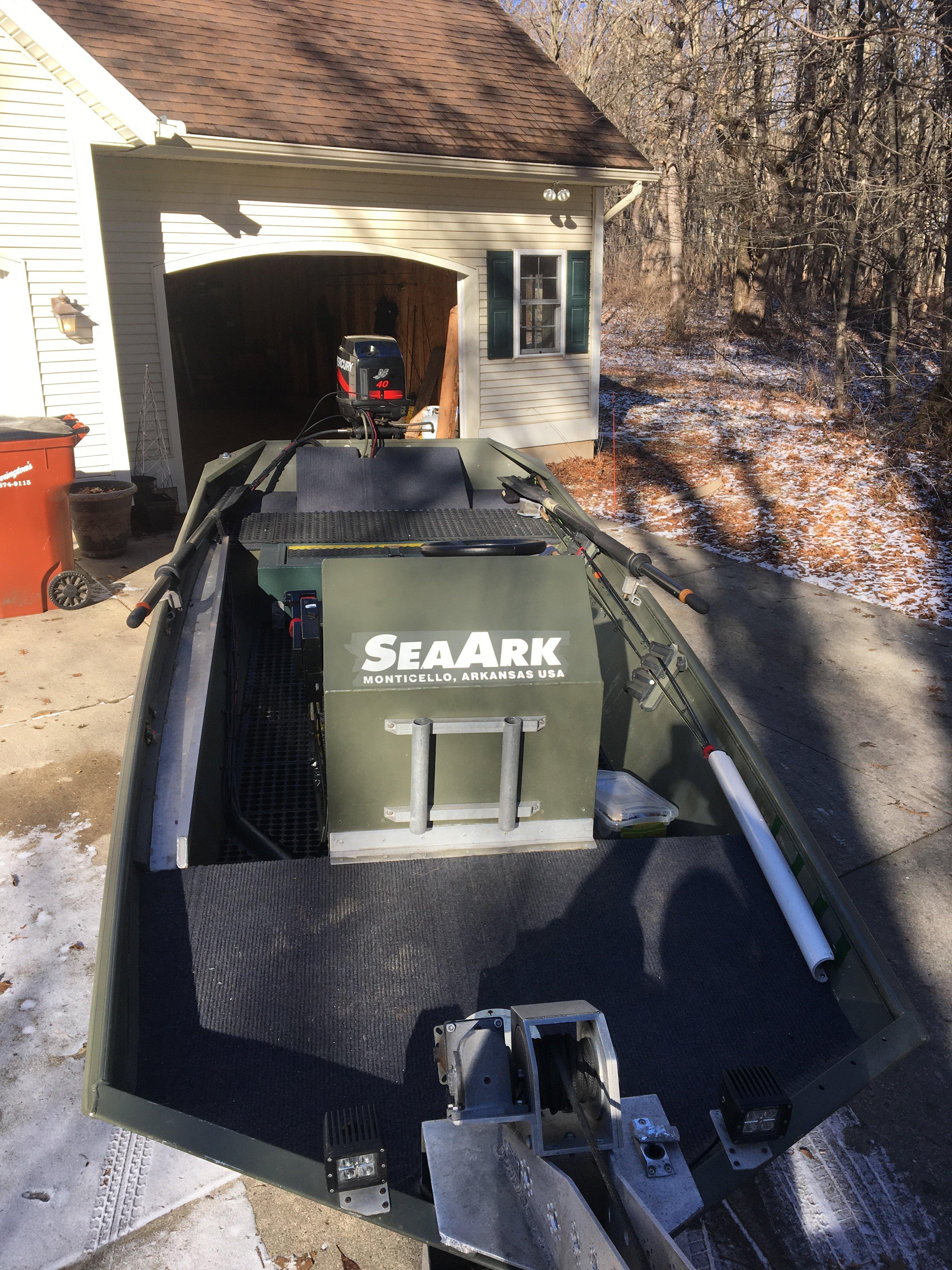 SeaArk 1652 center console Jet sled for sale | Michigan Sportsman