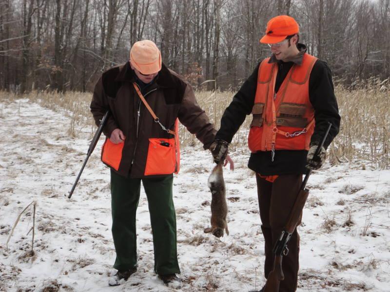 Comraderie of Rabbit Hunters