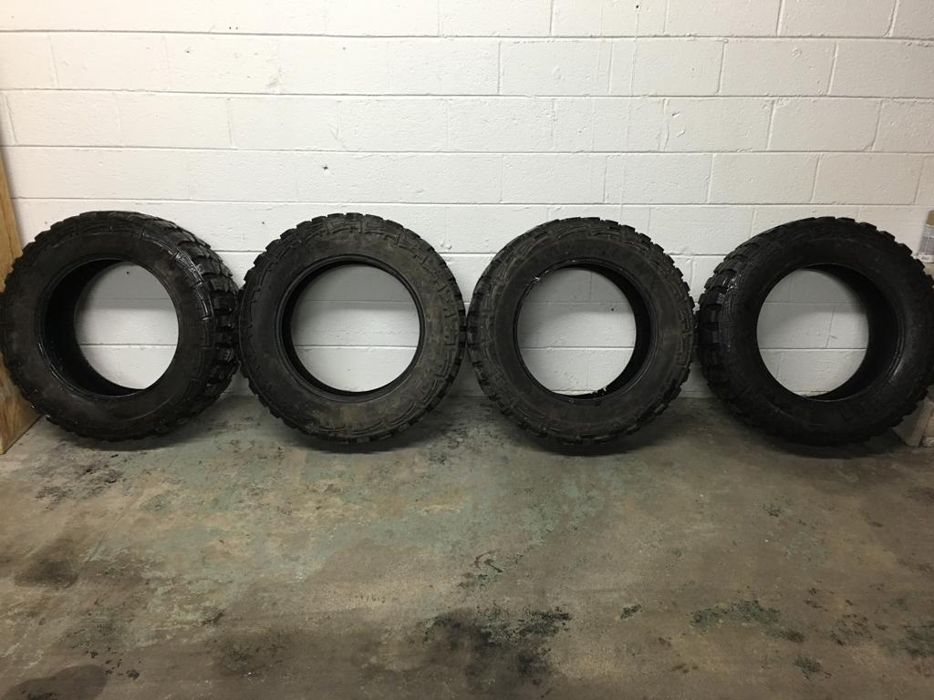 35 Inch Mud Tire Set Michigan Sportsman Online Michigan Hunting