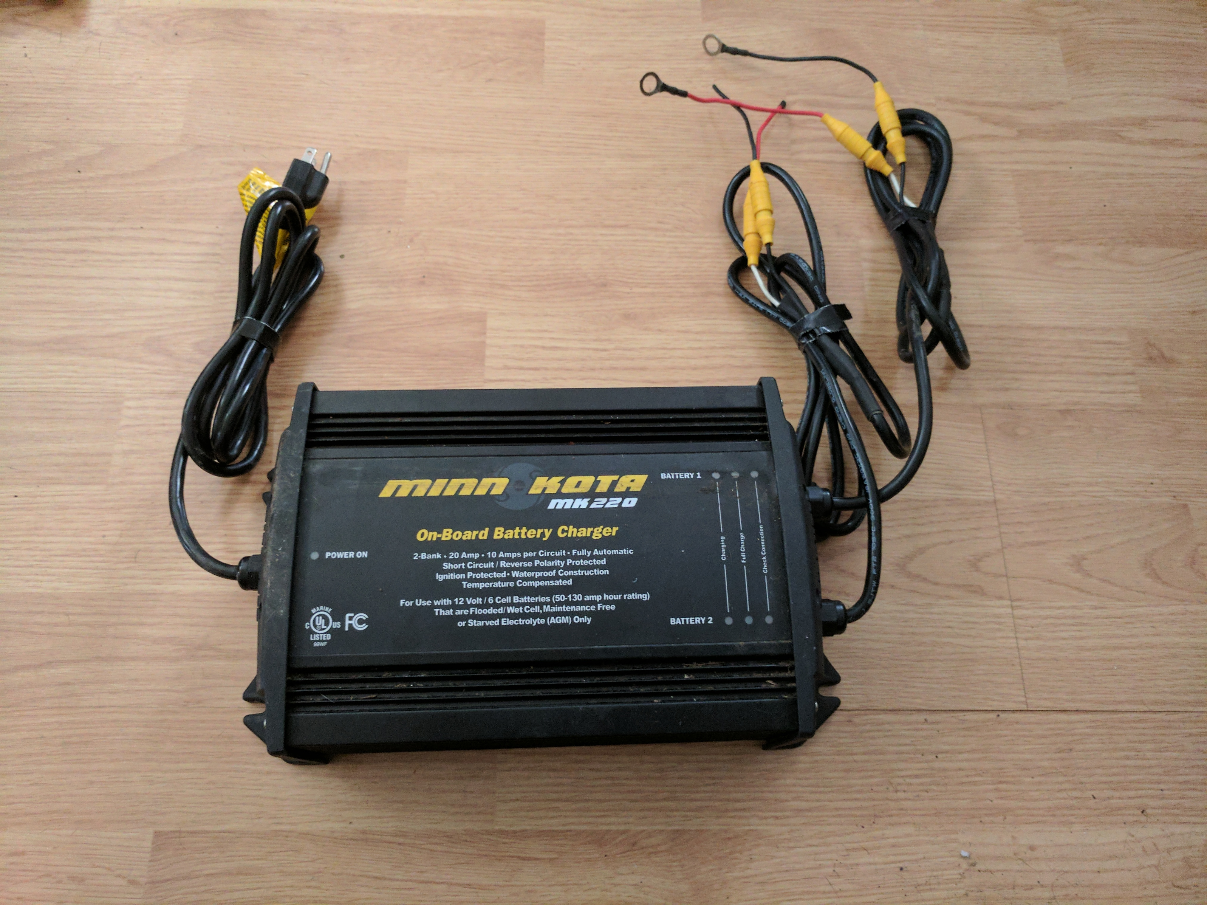 Minn Kota 2 Bank Charger Wiring - Best Charger Photos ... Minn Kota Battery Charger Wiring Diagram on