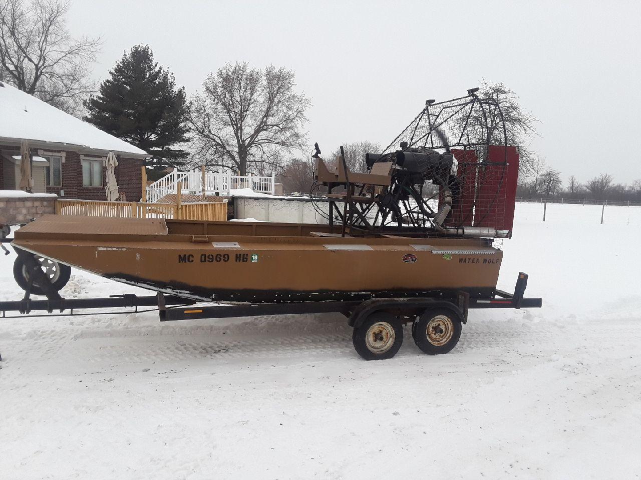Air boat   Michigan Sportsman - Online Michigan Hunting and Fishing