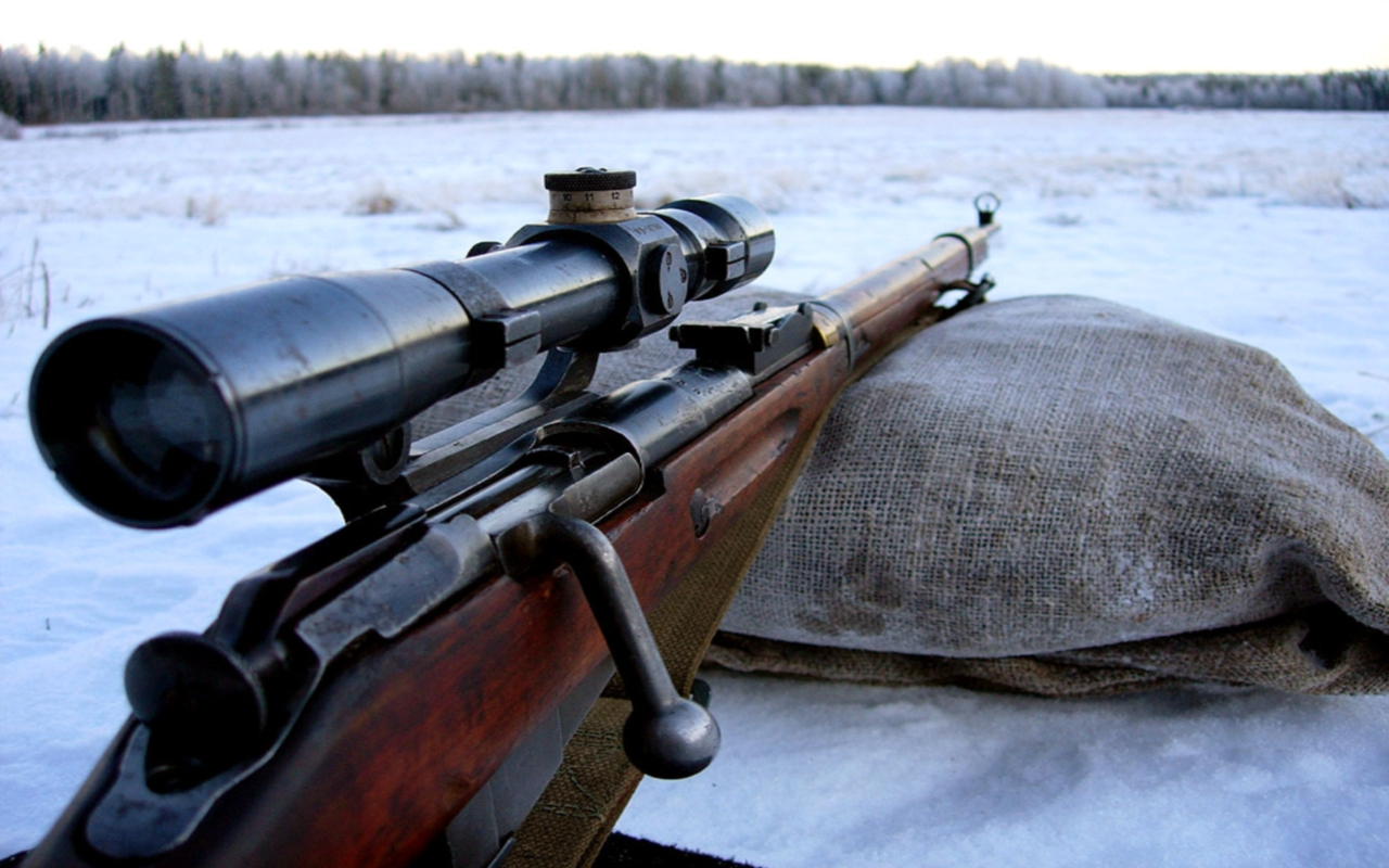 Popular and inexpensive rifles such as this Mosin-Nagant M.91-30 can make easy hunting rifles