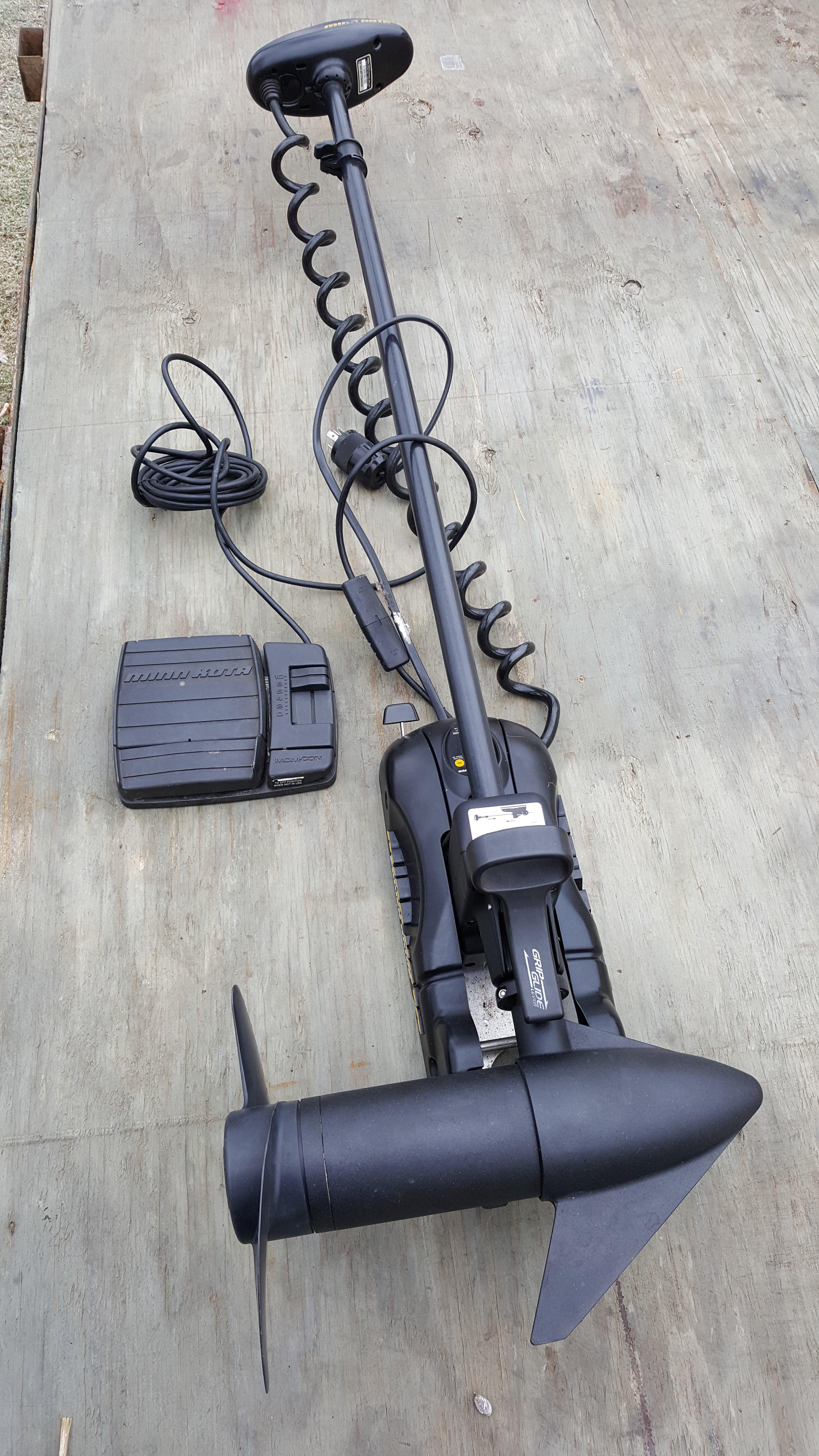 Minn Kota 65 lb Thrust Power Drive - $400 call 5868509226