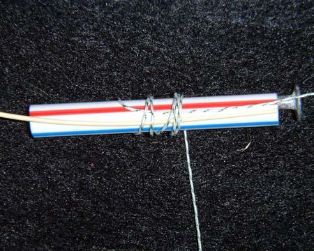 nail knot step1