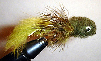 Olive Sculphin Fly Pattern
