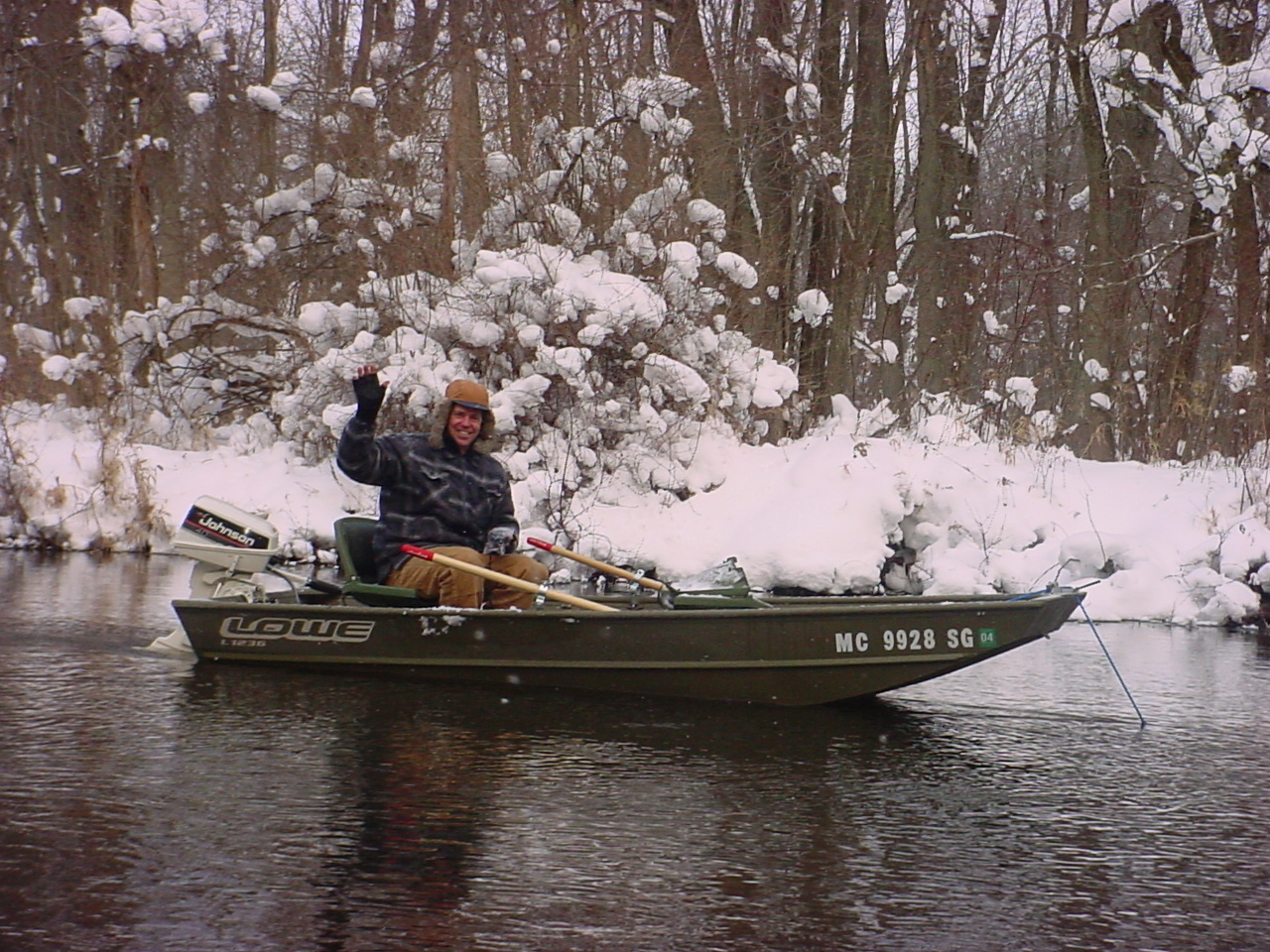 Home made drift boats page 16 michigan sportsman for Drift boat fishing