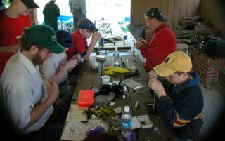 Boy Scouts and Fly Fishing Merit Badge