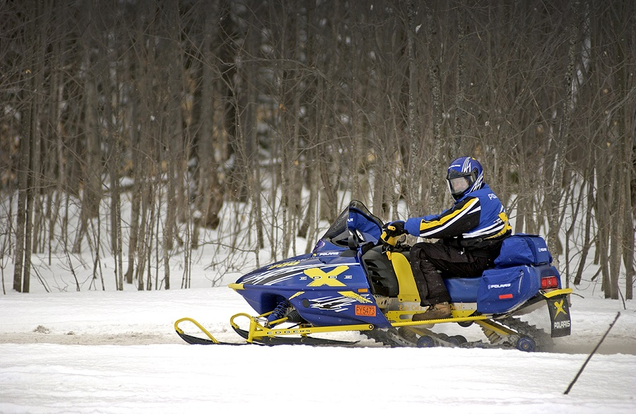 Snowmobile by MDNR