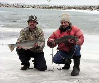 Steelhead on the Ice