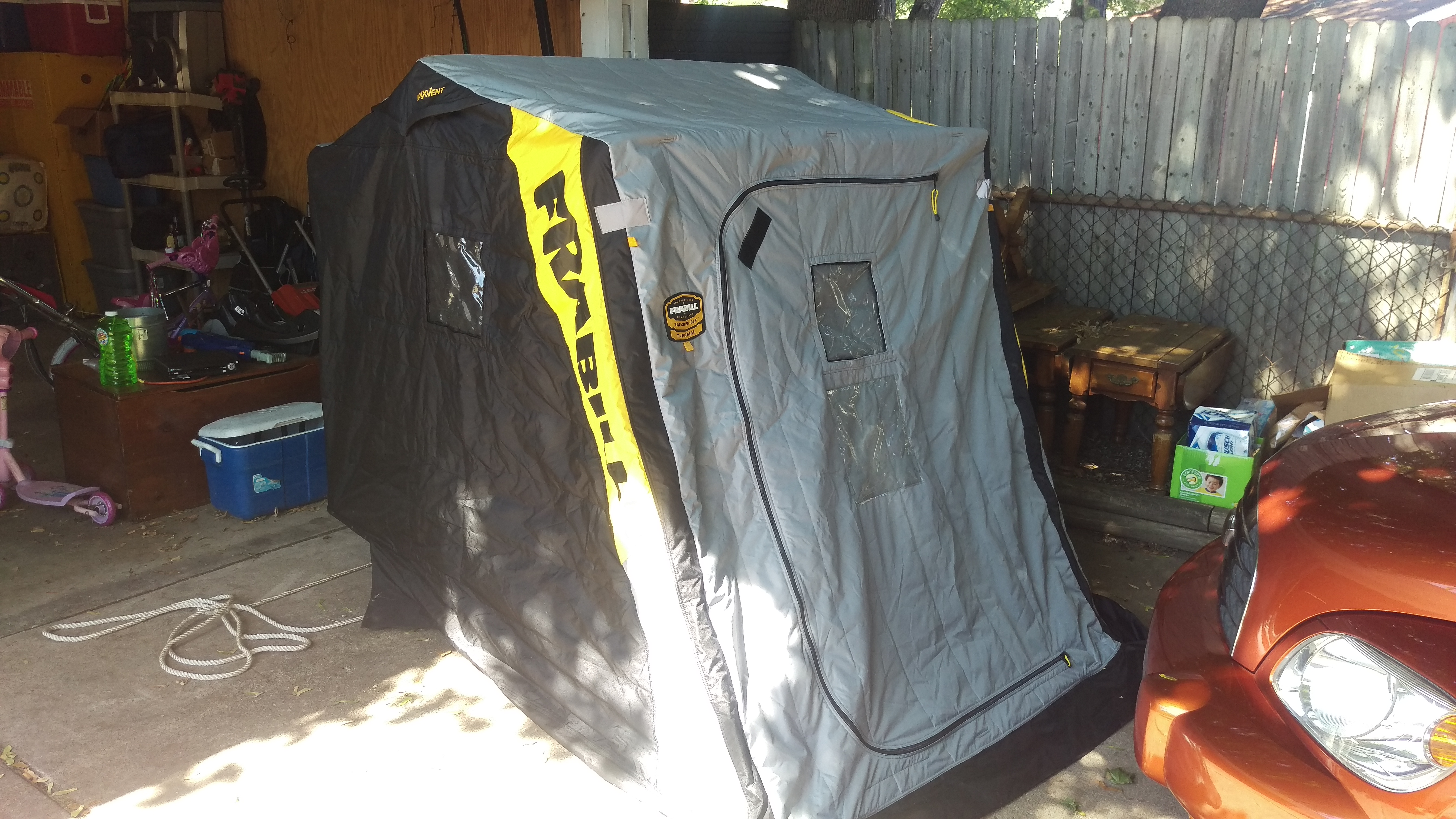Frabill thermal 2 man shanty | Michigan Sportsman - Online Michigan