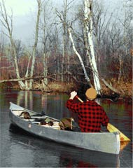 trapping canoe