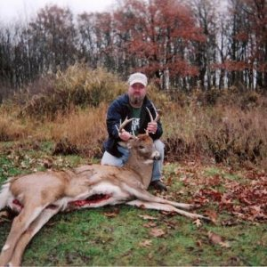 T REX AND hiS 10 POINT MICHIGAN BUCK