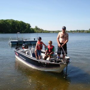 2010 Long Lake Tourney w/ Boys