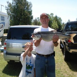 13 lb Laker - St Ignace