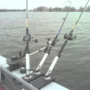 Lund Fishing Setup 2