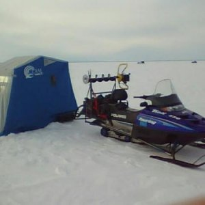 Rod's Ice fishing rig