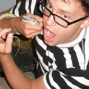 me eating a nile monitor