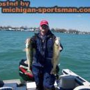 Bill_With_2_Nice_Walleye_on_Detroit_River_4-9-09