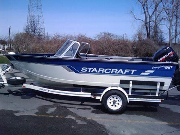 1996 StarCraft SuperFisherman 170 Deep V with 75 hp WOT ...