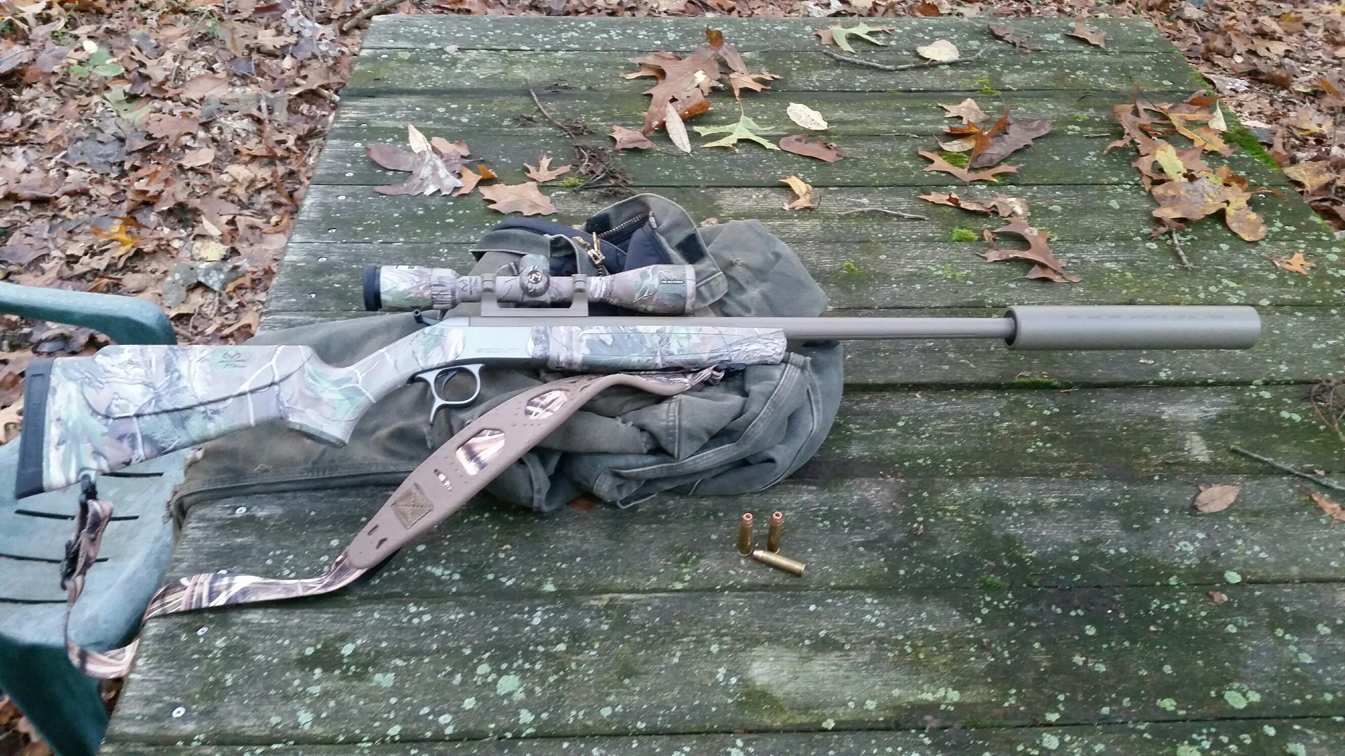 CVA singe shot 450 Bushy barrel ? | Michigan Sportsman - Online