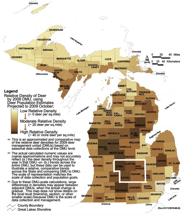 Cwd Density Relationship Michigan Sportsman Online Michigan