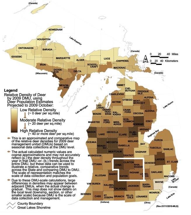 Cwd Density Relationship Michigan Sportsman Online Michigan Hunting And Fishing Resource