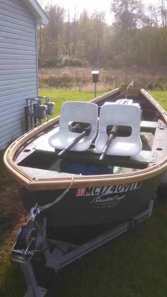 2001 Stealthcraft 15' Drift Boat For Sale!!! $2500 | Michigan